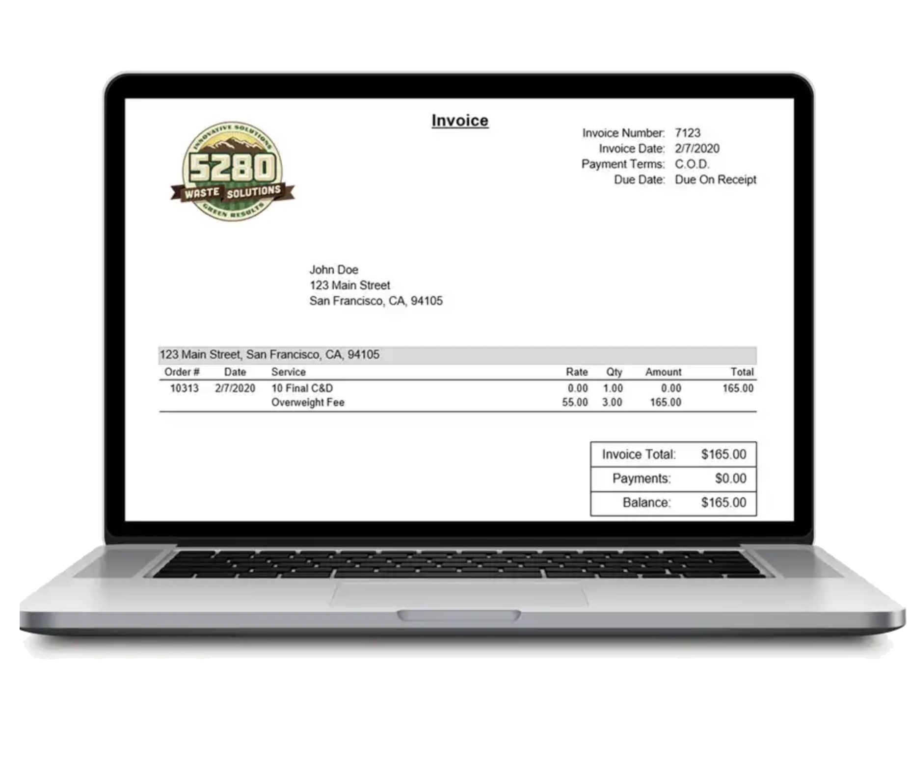 starlight custom billing and invoicing